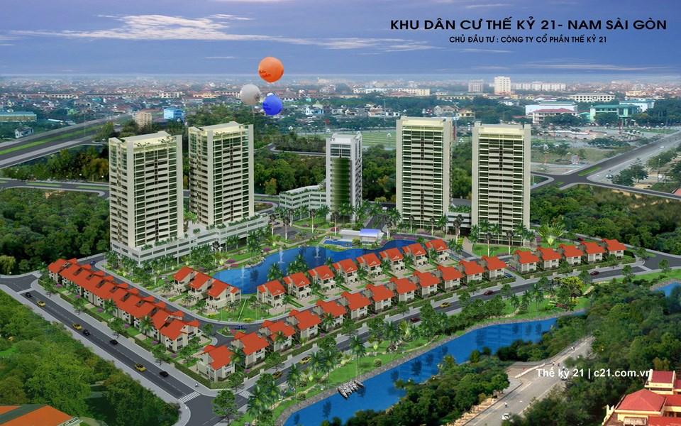 Khu dân cư Nam Sài Gòn